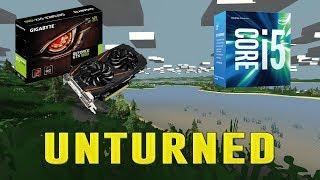 UNTURNED | GTX 1060 3GB + I5-7400 + 8GB RAM | ULTRA - 1080p | BENCHMARK