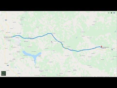 Трасса М5 Е30 Пенза - Кузнецк. Лето 2017. День.