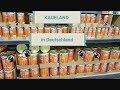 Обзор цен на продукты в Германии  в магазине  KAUFLAND.  2018
