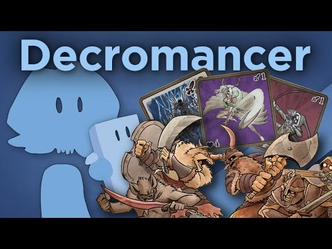 James Recommends – Decromancer – Turn-Based Strategy Meets CCG