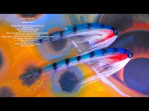 Tying a Saltwater Turbo Disc Tube Fly by Davie McPhail