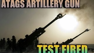 (hindi)155mm/52cal ATAGS Howitzer Successfully Tested
