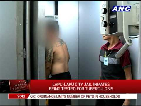 Lapu-Lapu City jail inmates tested for tuberculosis