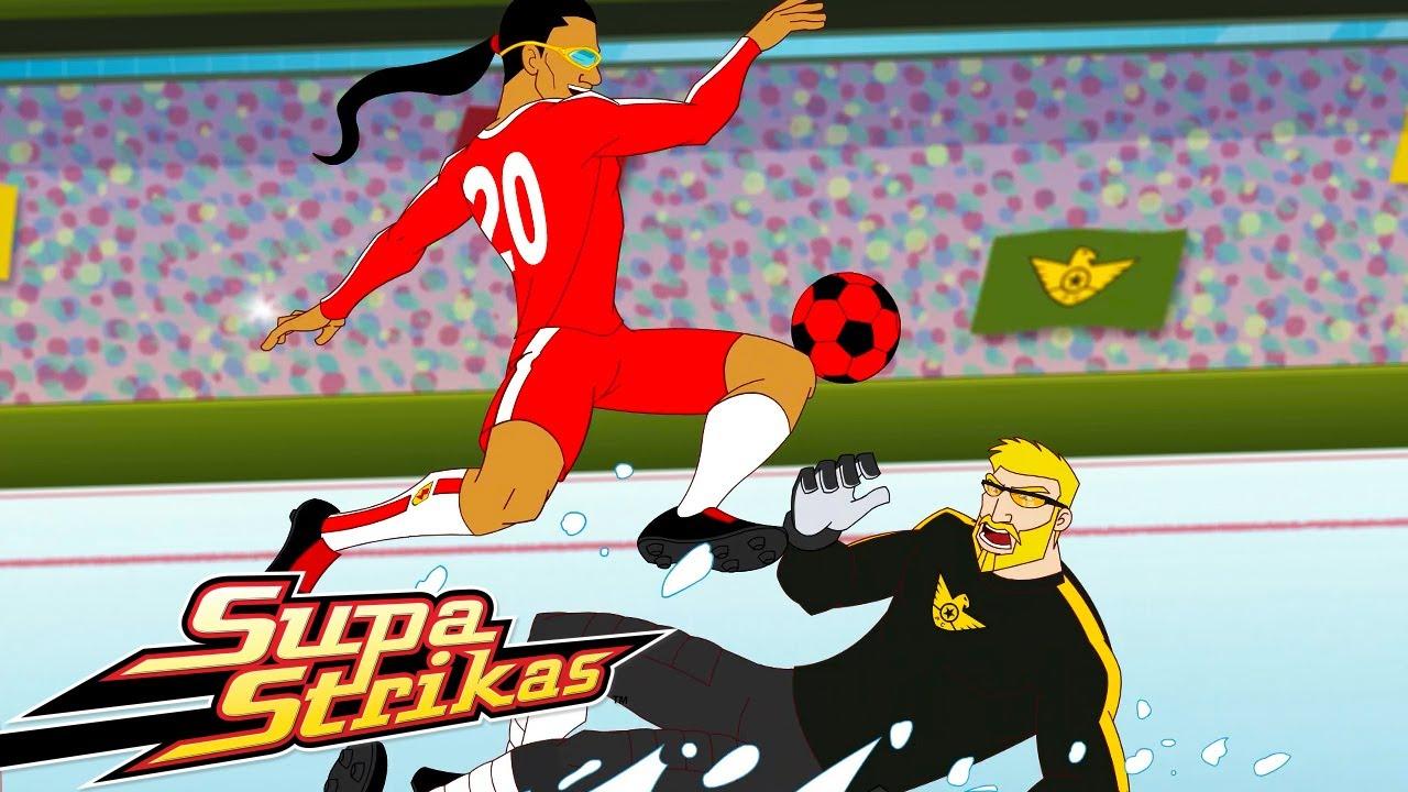 ⚽ SUPA STRIKAS VS IRON TANK ⚽ | Super Strikas | Súper Fútbol Dibujos Animados | Comic | Caricatura