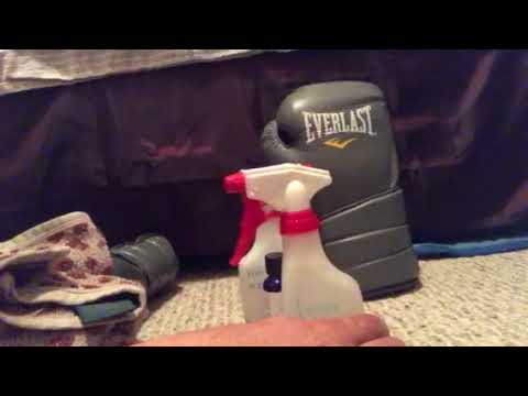 Boxing Glove Cleaning