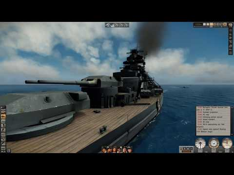 IJN Yamato sinking & looking At It in Silent Hunter 5 |