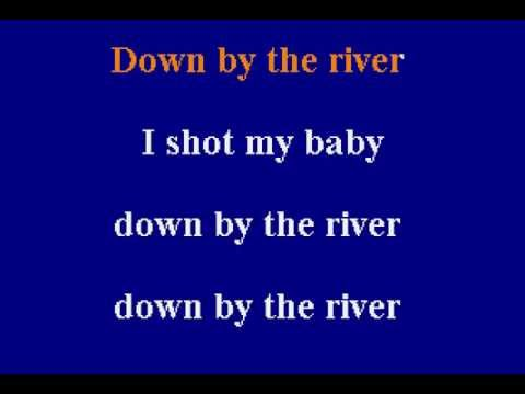 Neil Young -  Down By The River - Karaoke