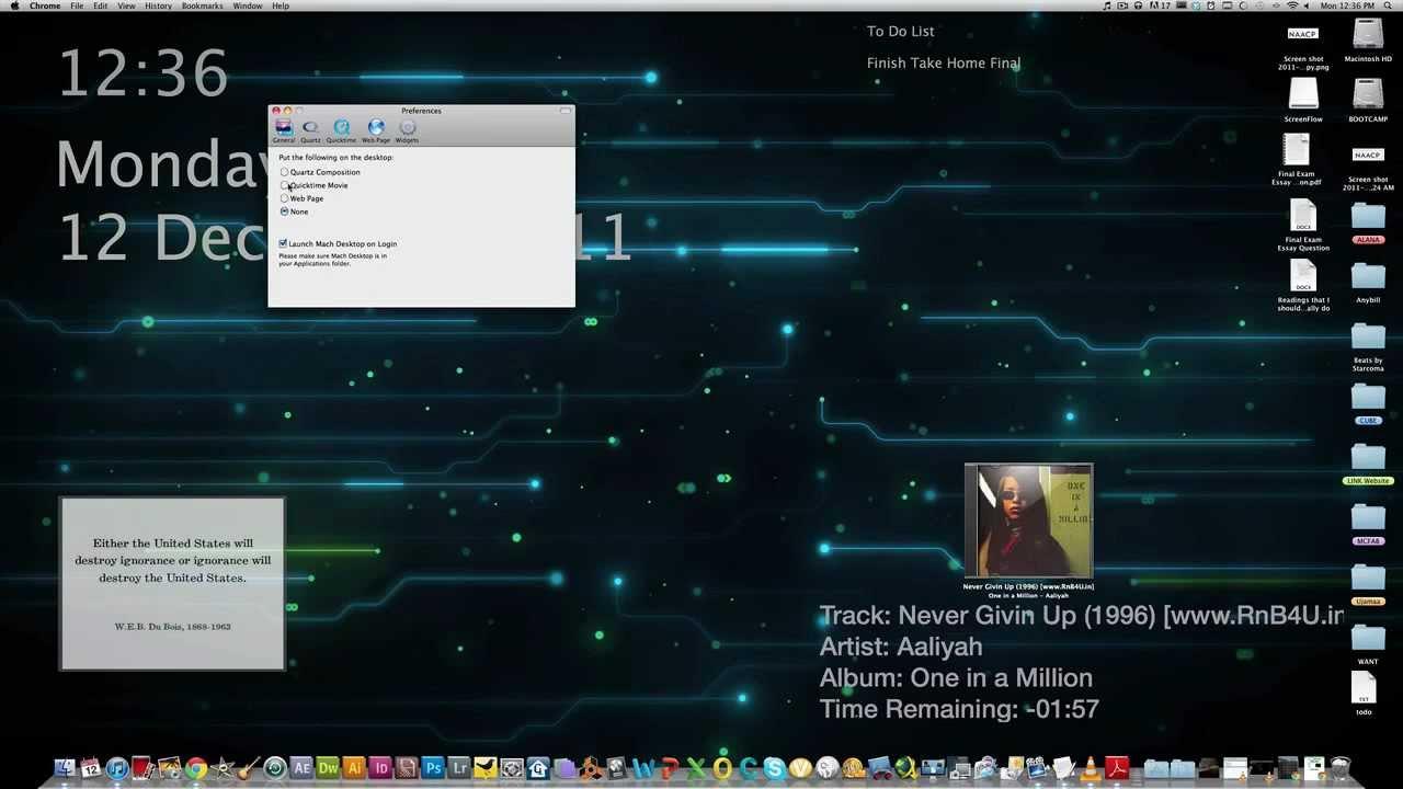 How To Set A Video As Desktop Wallpaper MAC OSX