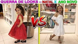 GUERRA DE ESTILOS/LOOKS  - NATAL VS ANO NOVO