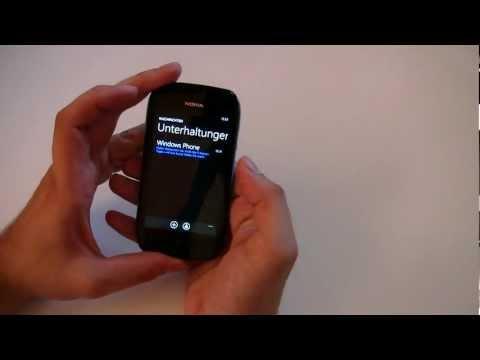 Howto: Einrichtung des Nokia Lumia 710 Smartphones mit Windows Phone 7.5 (Mango)