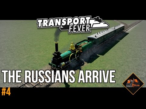 The Russians Arrive | Transport Fever Alps gameplay series #4