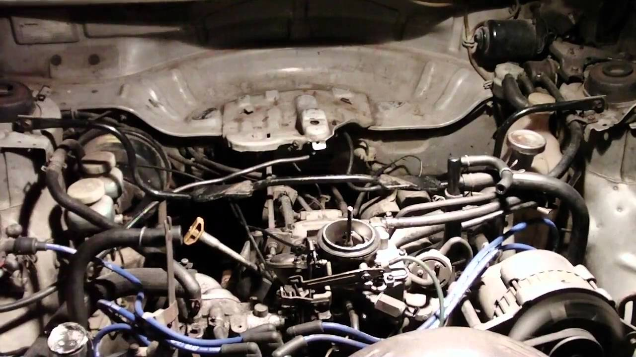 Ea81 Startup After Carb Rebuild Youtube Subaru Wiring Diagram