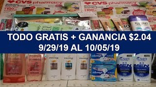 CVS Mi Compra Todo Gratis + Ganancia 😊 29 Sept al 05 Octubre 2019