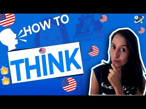 How to Think in English - 3 Simple Steps