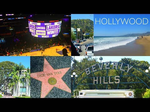 LOS ANGELES Hollywood Travel Diary // Lakers game, Walk of Fame, Malibu etc