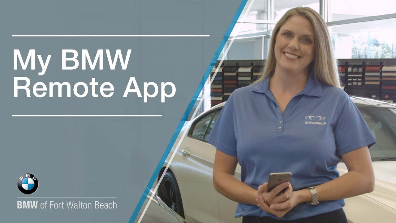 My BMW Remote App Walkthrough