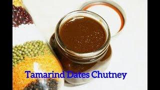 Imli ki Chutney   Dates Tamarind Chutney  Khajur Imli ki meethi Chutney  by Priyanka Rattawa