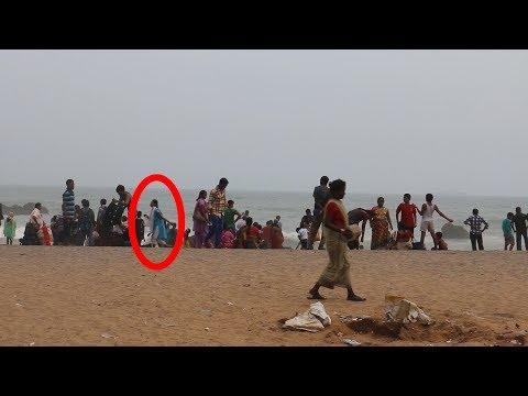 Real Ghost Caught on Camera at Vizag Beach - Real Ghost Videos in india - Real Scary Videos