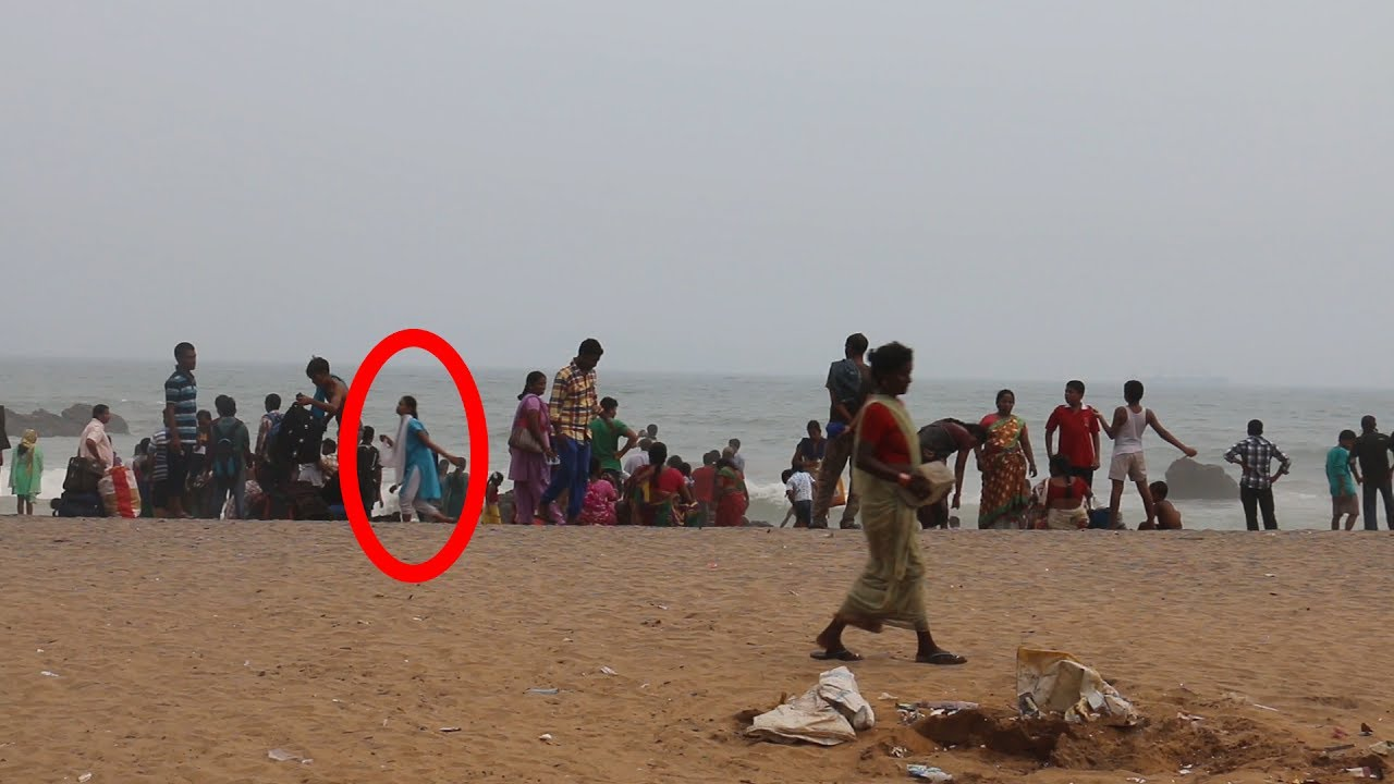 Real Ghost Caught on Camera at Vizag Beach - Real Ghost ...