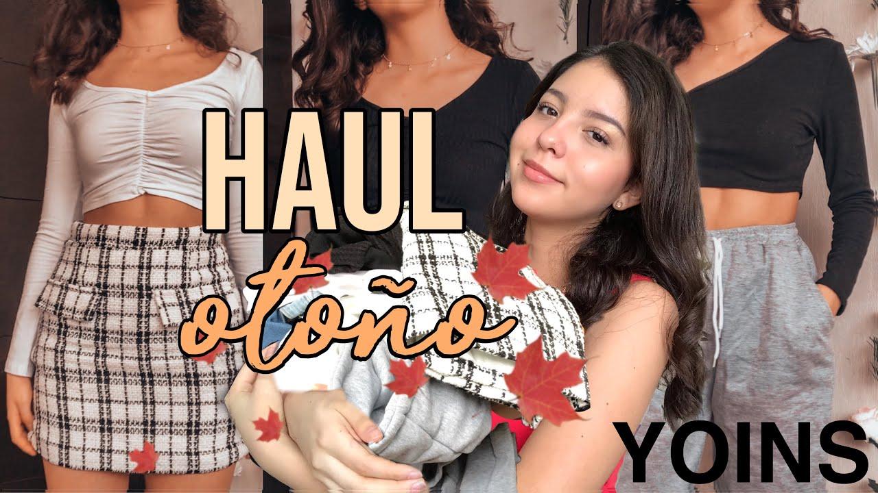 "MEGA HAUL DE OTOÑO🍂""YOINS""-Nina"