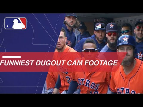 MLB's funniest dugout cam footage