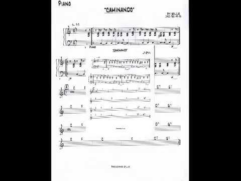 Partituras De Salsa Para Piano Gratis Caminando Ruben