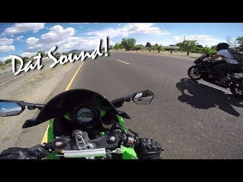 Kawasaki Ninja ZXR VS Triumph Daytona