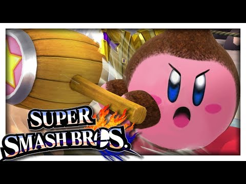 KIRBY DONKEY KONG ! | SUPER SMASH BROS CO-OP NINTENDO WII U FR