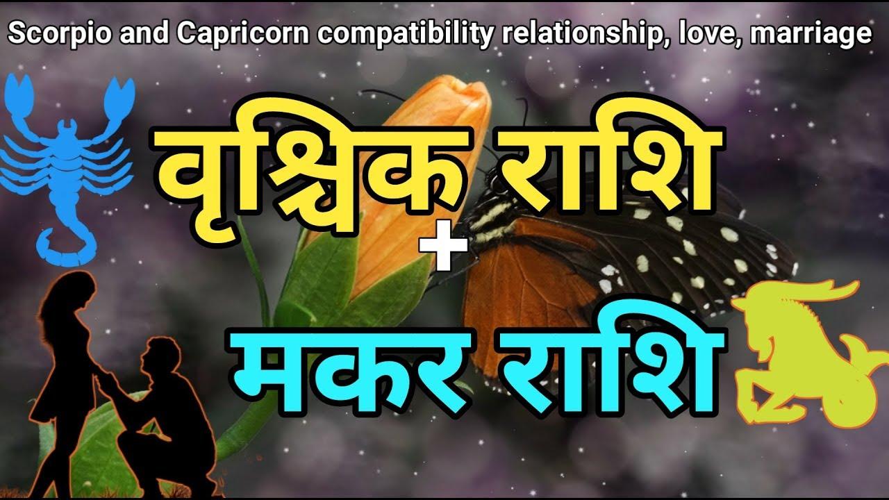 वृश्चिक राशि -मकर राशि |Scorpio Capricorn Compatibility |Love Relationship  |Marriage life astrology