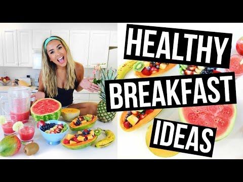 3 HEALTHY & EASY BREAKFAST IDEAS!!!!