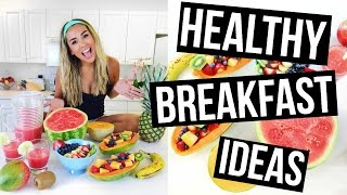 3 HEALTHY & EASY BREAKFAST IDEAS!!!!