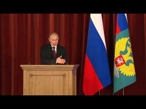 Putin Speaks to Ambassadors