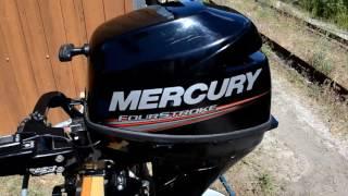 Mercury F9.9M Запуск.