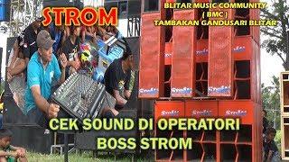 Gambar cover STROM CEK SOUND LANGSUNG  DI OPERATORI BOSNYA