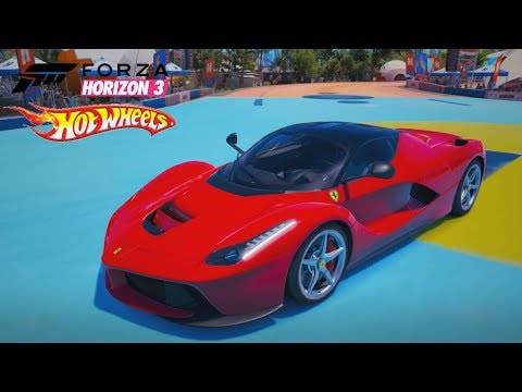 FORZA HORIZON 3 HOT WHEELS - VOANDO COM A LAFERRARI