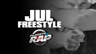 Grosse session freestyle de Jul en live dans Planète Rap