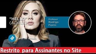 Hello - Adele (AULA DE TECLADO) - Cordas e Música