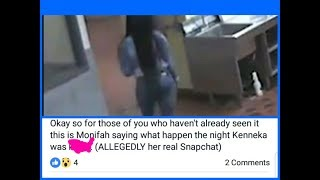 Monifah Tells It ALL On Snapchat The Day Kenneka Jenkins Was Found In the Freezer