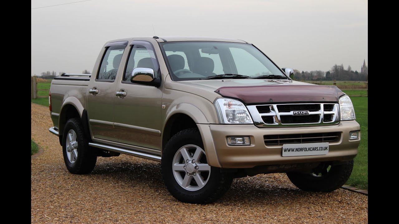 medium resolution of 2004 isuzu rodeo denver tf pick up truck 4x4 diesel auto