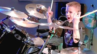 """Radar Love"" Avery Molek, 8 year old Drummer"