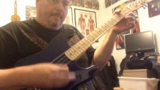 Electric mandocello (deep blue)