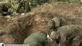 Немцы и русские ищут останки солдат в Ленинградской области