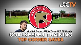 Goalkeeper Training Top Corner Saves