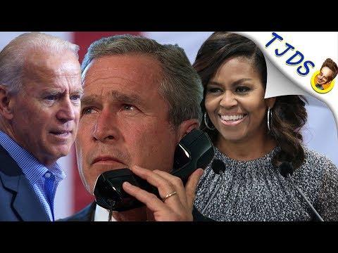 Disgusting Rehabilitation Of George W. Bush By Michelle Obama & Joe Biden