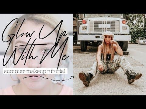GLOW UP FOR SUMMER! // Dewy Summer Makeup Tutorial 2018