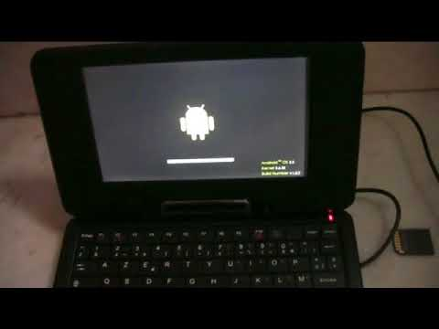 Installing Universal Uberoid For WM8650 Tablet
