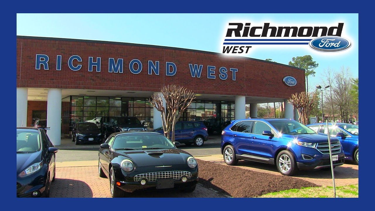 Richmond Ford West >> Richmond Ford West Your Central Virginia Used Car Dealer