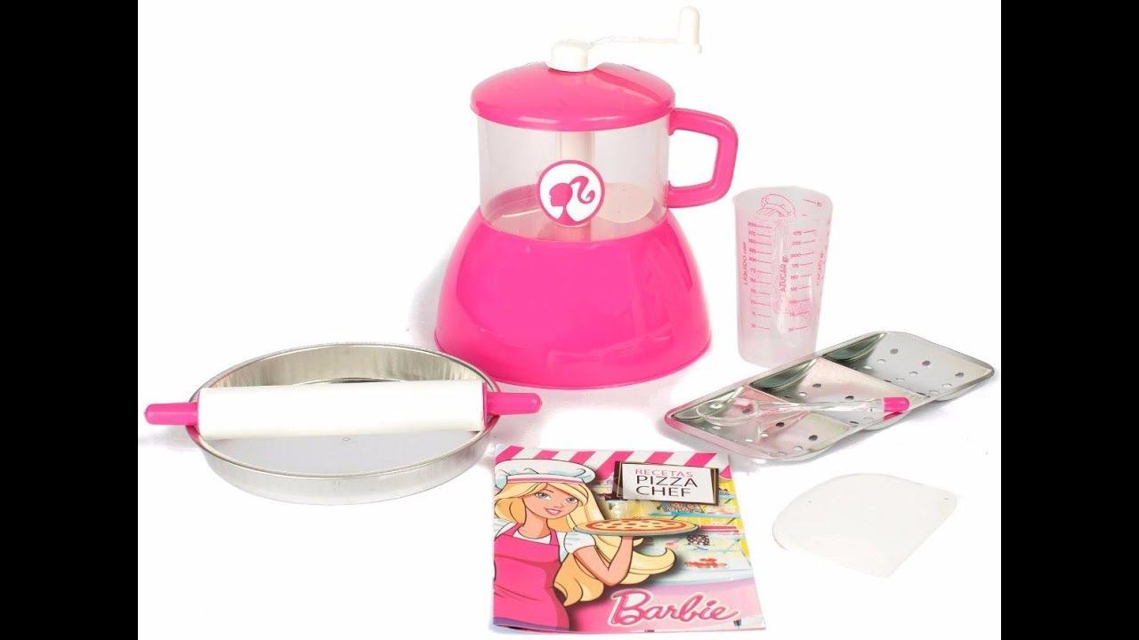 Barbie Pizza Glam Pan Y Pizza Barbie Chef Juguetes Y Juegos