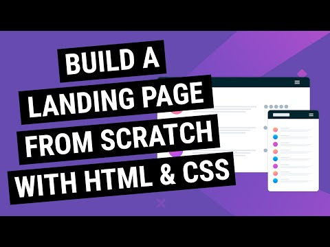 Coding A Landing Page Website From Scratch! (LIVE)