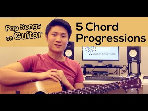 5 Common Guitar Chord Progressions for Pop Music That Everyone Should Know
